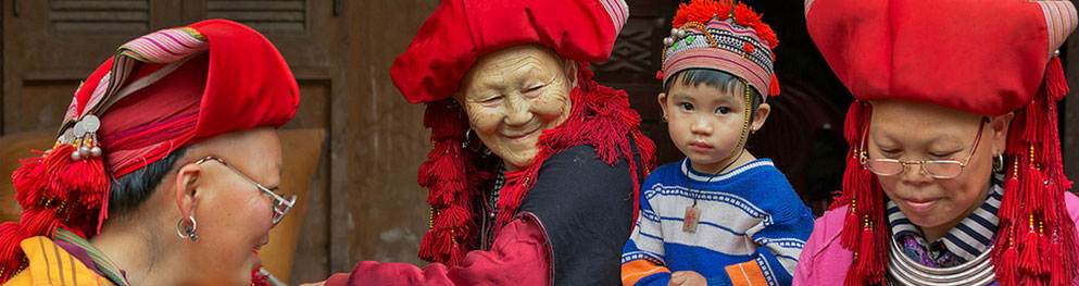 Red Dzao ethnic people